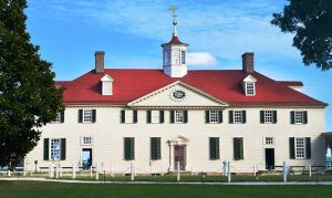 George Washington's home at Mount Vernon